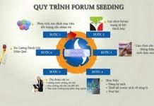 Quy trình làm forum seeding