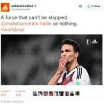 Real-time content Marketing: Mạng xã hội của Adidas trong mùa World Cup