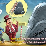 Tư duy thịnh vượng số 9 – Người giàu đứng cao hơn những vấn đề của họ