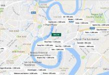 Bản đồ Dự báo nguồn cung bất động sản tại TP Hồ Chí Minh năm 2018