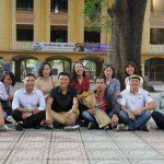 Chụp lưu niệm cùng các bạn lớp D Hoàng Diệu 93-96